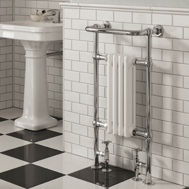 Butler & Rose Elizabeth Traditional Heated Towel Rail Radiator -  965mm x 495mm