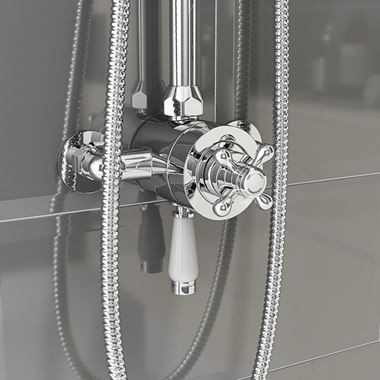 Butler & Rose Elizabeth Exposed Thermostatic Traditional Shower Valve