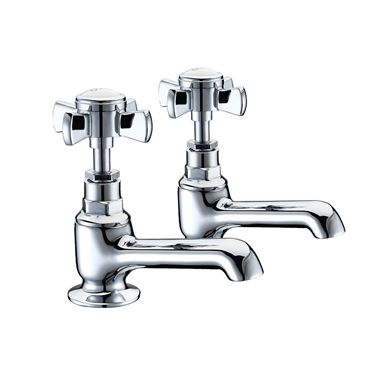 Butler & Rose Loretta Traditional Bath Pillar Taps