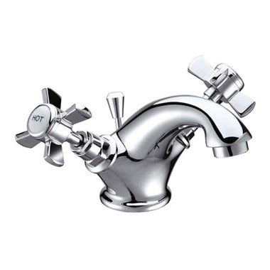 Butler & Rose Loretta Traditional Mono Basin Mixer with Pop-up Waste