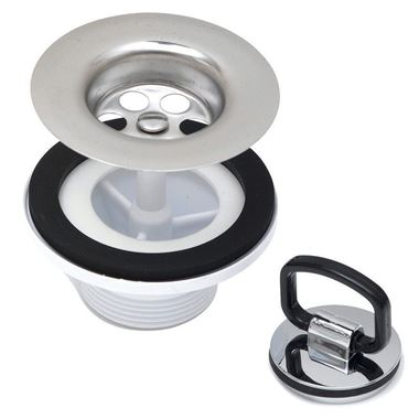 Caple 65mm Stainless Steel Belfast Plug Waste