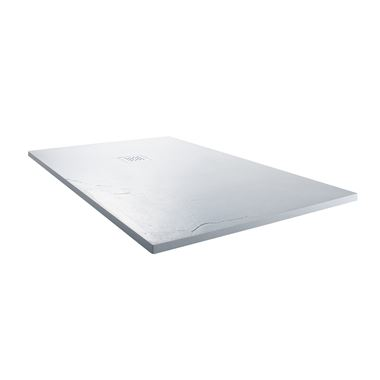 Drench Ultra Thin Rectangular White Stone Shower Tray - 1200 x 800mm