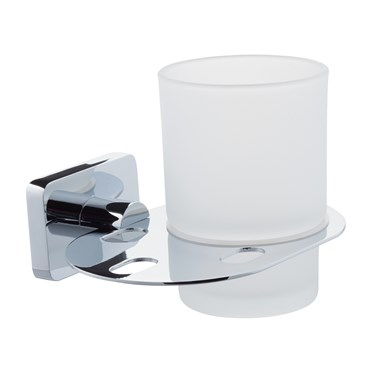 Balham Glass Tumbler & Holder