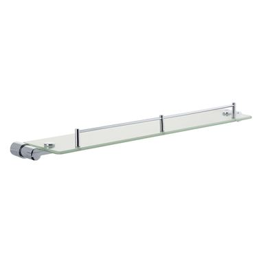 Holloway Single Glass Shelf 576mm