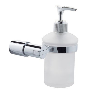 Holloway Glass Soap Dispenser & Holder