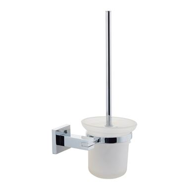 Poplar Toilet Brush & Holder