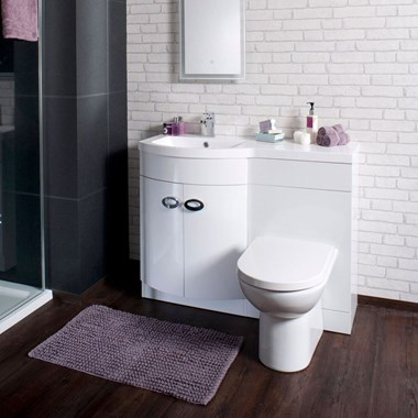 Dream 1100mm Width Furniture Suite with Back-to-Wall Toilet & Cistern