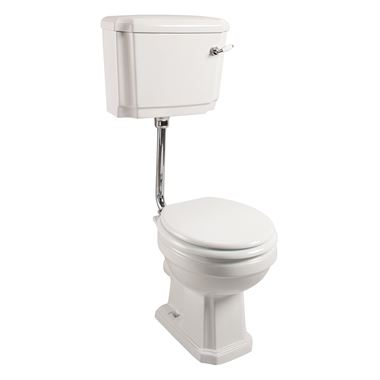 Chartley Traditional Low Level Toilet, Cistern & Flush Pipe Kit