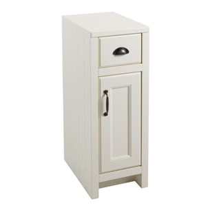 Chartley One Door & One Drawer Storage Cabinet - Vanilla