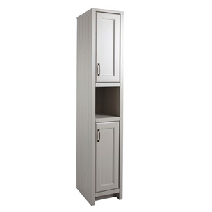 Chartley Tall Storage Cabinet in Mocha