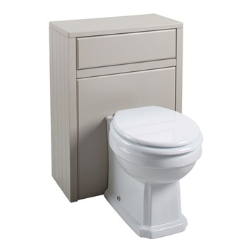 Chartley Back to Wall Toilet Unit in Taupe