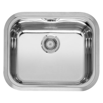 Reginox Chicago Single Bowl Stainless Steel Undermount Kitchen Sink & Waste