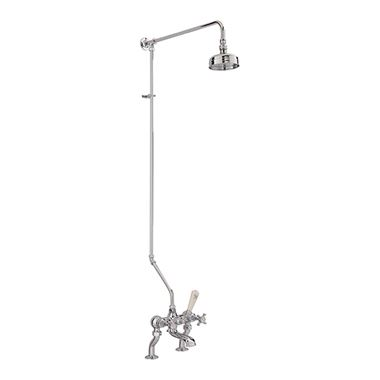 Sagittarius Churchman Bath Shower Mixer With Rigid Riser