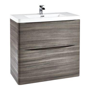 Harbour Clarity 900mm Floorstanding Vanity Unit & Basin - Avola Grey
