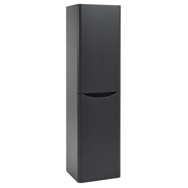 Harbour Clarity 1500mm Tall Wall Mounted Cabinet - Anthracite Grey