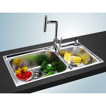 Clearwater Ocean 2 1.75 Bowl Brushed Stainless Steel Sink