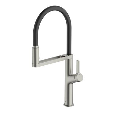Clearwater Galex Motion Touchless Single Lever Mono Pull Out Kitchen Mixer - Brushed Nickel