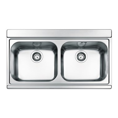 Clearwater Mirage Double Bowl Satin Finish Sink