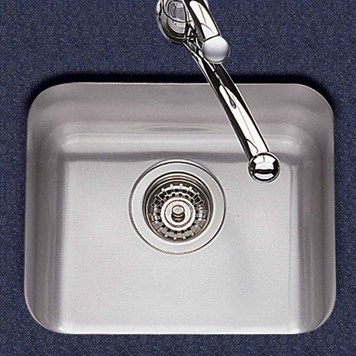Clearwater Tango 290mm Single Bowl Brushed Steel Undermount Sink