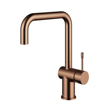 Clearwater Zodiac Single Lever Mono Kitchen Mixer - Regency Copper