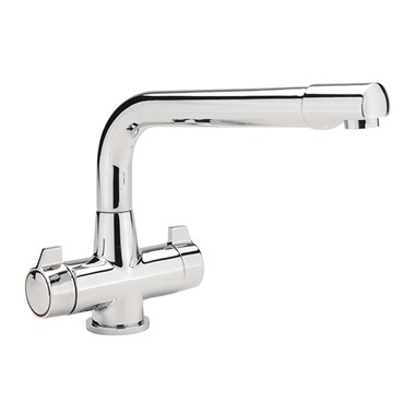 Sagittarius Contract Monobloc Kitchen Sink Mixer with Swivel Spout