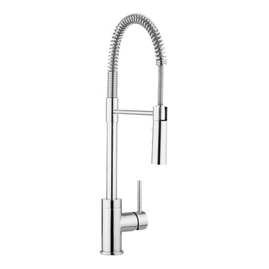 Crosswater Cucina Cook Side Lever Mono Kitchen Mixer with Flexi Spray - Chrome