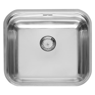 Reginox Colorado Comfort Single Bowl Undermount Stainless Steel Sink & Waste
