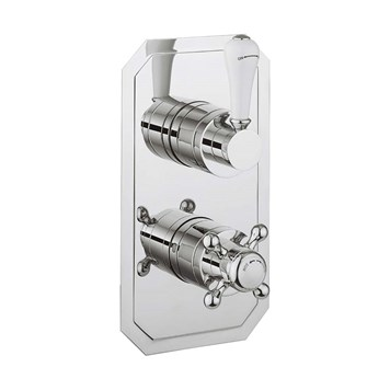 Crosswater Belgravia Lever Slimline Thermostatic Shower Valve