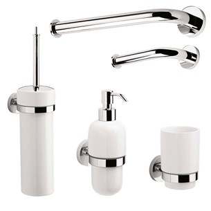 Crosswater Central Bathroom Accessory Pack