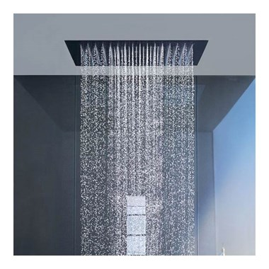 Crosswater Square Recessed Shower Head 380mm