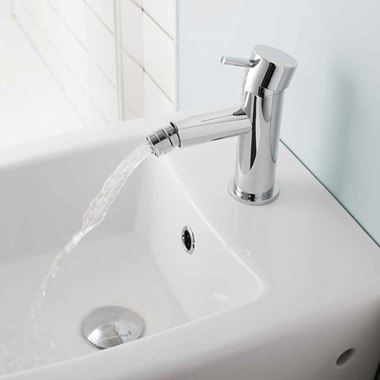 Crosswater Kai Lever Bidet Monobloc with Pop-Up Waste