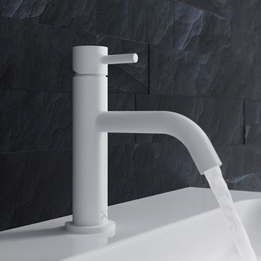 Crosswater MPRO Basin Mixer Tap - Matt White