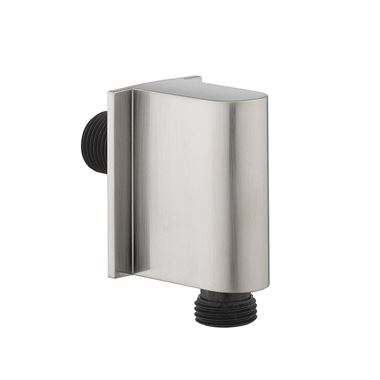 Crosswater MPRO Wall Outlet - Stainless Steel Effect