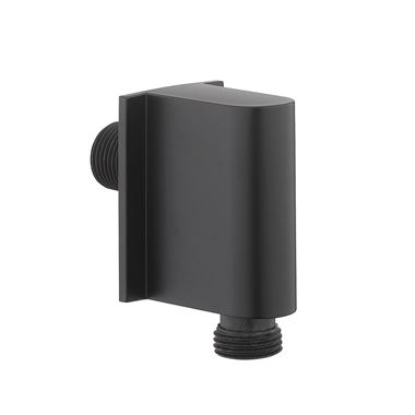 Crosswater MPRO Wall Outlet - Matt Black