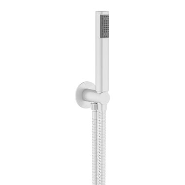 Crosswater MPRO Shower Handset with Wall Outlet and Hose - Matt White