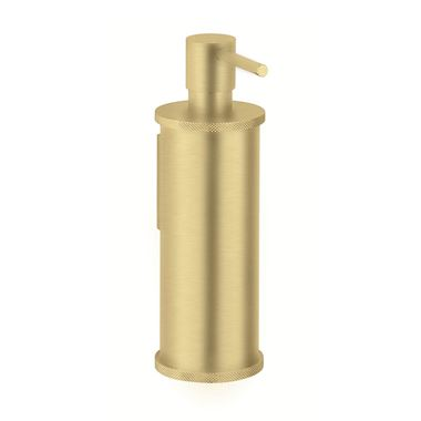 Crosswater Union Wall Mounted Soap Dispenser - Brushed Brass