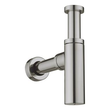 Crosswater Union Bottle Trap - Brushed Nickel