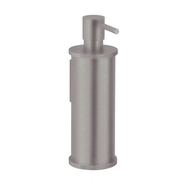 Crosswater Union Wall Mounted Soap Dispenser - Brushed Nickel