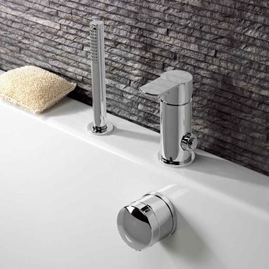 Crosswater Wisp Bath Filler Monobloc with Diverter