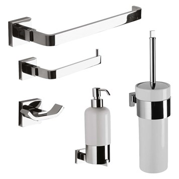 Crosswater Zeya Bathroom Accessory Pack