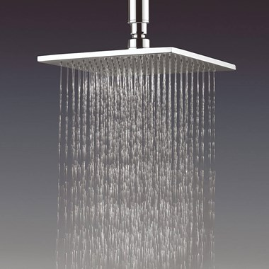 Crosswater Zion Vs Showerhead 200 x 200 x 8mm