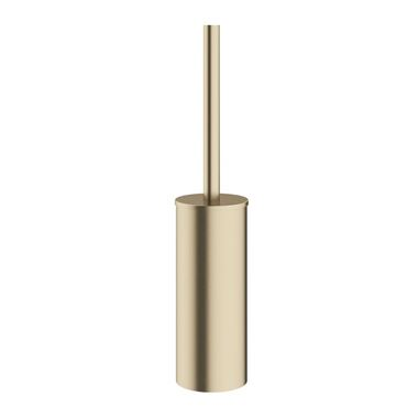 Crosswater MPRO Toilet Brush Holder - Brushed Brass
