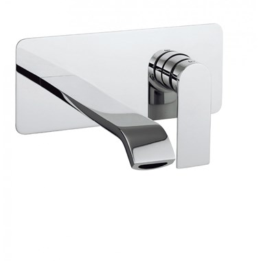 Crosswater Dune Wall Mounted Basin Mixer