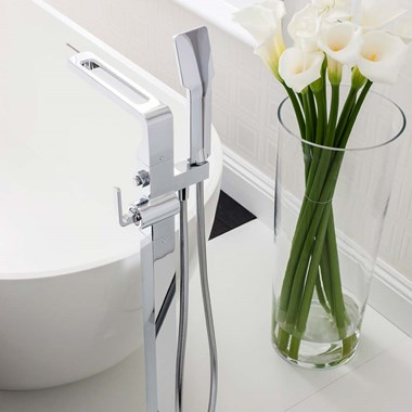 Crosswater KH Zero 1 Floorstanding Bath Shower Mixer