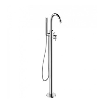 Crosswater Mike Pro Bath Shower Mixer Floor Standing