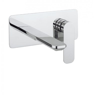 Crosswater Pier Wall Mounted Basin Mixer