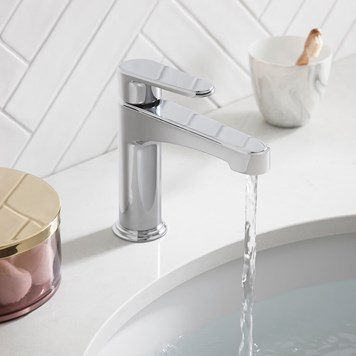 Crosswater Celeste Mono Basin Mixer - Chrome