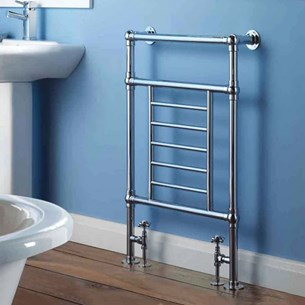 Butler & Rose Caribia Bathroom Traditional Heated Towel Rail Radiator - 965 x 673mm
