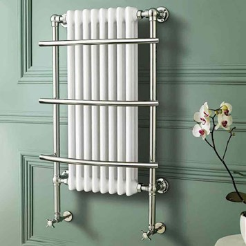 Butler & Rose Landour Bathroom Traditional Heated Towel Rail Radiator - 1000 x 630mm