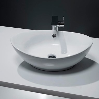 Oval Countertop Basin